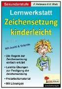 Cover-Bild zu Zeichensetzung kinderleicht - Lernwerkstatt (eBook) von Heitmann, Friedhelm