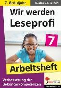 Cover-Bild zu Wir werden Leseprofi 7 - Arbeitsheft (eBook) von Stolz, Ulrike