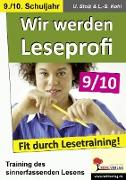 Cover-Bild zu Wir werden Leseprofi 9/10 (eBook) von Stolz, Ulrike