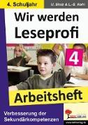 Cover-Bild zu Wir werden Leseprofi 4 - Arbeitsheft (eBook) von Stolz, Ulrike