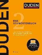Cover-Bild zu Dudenredaktion (Hrsg.): Duden - Das Stilwörterbuch