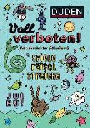 Cover-Bild zu Dudenredaktion: Voll verboten! Mein verrückter Rätselblock 1 - Ab 8 Jahren