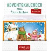 Cover-Bild zu Display Adventskalender zum Verschicken Kindermotive Jatkowska