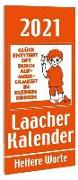 Cover-Bild zu Laacher Kalender Heitere Worte 2021 von Heinen, Beate (Illustr.)