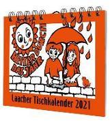 Cover-Bild zu Laacher Tischkalender Heiter durch das Jahr 2021 von Heinen, Beate (Illustr.)