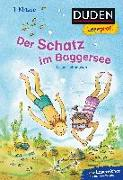Cover-Bild zu Duden Leseprofi - Der Schatz im Baggersee, 1. Klasse von Holthausen, Luise