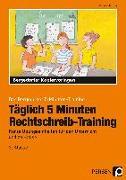 Cover-Bild zu Täglich 5 Minuten Rechtschreib-Training - 3.Klasse von Hohmann, Karin