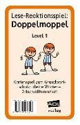 Cover-Bild zu Lese-Reaktionsspiel: Doppelmoppel Level 1 von Pufendorf, Christine von