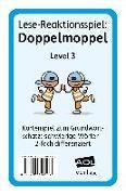 Cover-Bild zu Lese-Reaktionsspiel: Doppelmoppel Level 3 von Pufendorf, Christine von