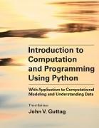 Cover-Bild zu Introduction to Computation and Programming Using Python, third edition (eBook) von Guttag, John V.