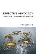 Cover-Bild zu Effective Advocacy (eBook) von Haddad, Mary Alice