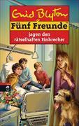 Cover-Bild zu Bd. 59: Fünf Freunde jagen den rätselhaften Einbrecher - Fünf Freunde von Blyton, Enid