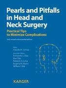 Cover-Bild zu Pearls and Pitfalls in Head and Neck Surgery von Cernea, Claudio R. (Hrsg.)