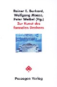 Cover-Bild zu Zur Kunst des formalen Denkens von Burkhard, Rainer E. (Hrsg.)