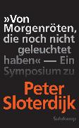 Cover-Bild zu »Von Morgenröten, die noch nicht geleuchtet haben« von Weibel, Peter (Hrsg.)