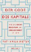 Cover-Bild zu Der Code des Kapitals von Pistor, Katharina