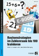 Cover-Bild zu Rechenstrategien im Zahlenraum bis 100 trainieren (eBook) von Kraft, Ellen