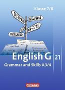 Cover-Bild zu English G 21. Ausgabe A3/4. Grammar and Skills von Blombach, Joachim