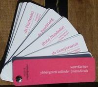 """Cover-Bild zu Wortfächer Berndeutsch """"Ybbürgereti Usländer"""""""