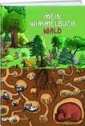 Cover-Bild zu Mein Wimmelbuch Wald