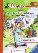 Cover-Bild zu Trixi und die wilden Wikinger - Leserabe 1. Klasse - Erstlesebuch für Kinder ab 6 Jahren von Thilo