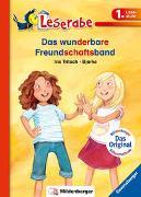 Cover-Bild zu Das wunderbare Freundschaftsband - Leserabe 1. Klasse - Erstlesebuch für Kinder ab 6 Jahren von Tritsch, Iris