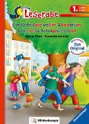 Cover-Bild zu Ein Schultag voller Abenteuer - Leserabe 1. Klasse - Erstlesebuch für Kinder ab 6 Jahren von Klein, Martin