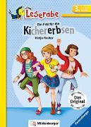 Cover-Bild zu Ein Fall für die Kichererbsen - Leserabe 3. Klasse - Erstlesebuch für Kinder ab 8 Jahren von Reider, Katja