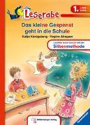 Cover-Bild zu Das kleine Gespenst geht in die Schule - Leserabe 1. Klasse - Erstlesebuch für Kinder ab 6 Jahren von Königsberg, Katja