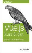 Cover-Bild zu Vue.js kurz & gut von Peterke, Lars