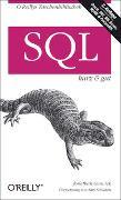 Cover-Bild zu SQL - kurz & gut von Gennick, Jonathan
