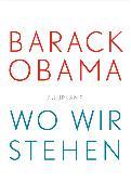 Cover-Bild zu Wo wir stehen von Obama, Barack