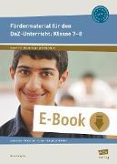 Cover-Bild zu Fördermaterial für den DaZ-Unterricht: Klasse 7-8 (eBook) von Angioni, Milena