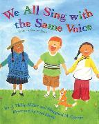 Cover-Bild zu We All Sing With the Same Voice von Miller, J. Philip