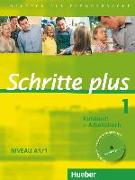 Cover-Bild zu Schritte plus 1 Niveau A1/1. Kursbuch + Arbeitsbuch mit Audio-CD zum Arbeitsbuch von Niebisch, Daniela