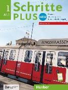 Cover-Bild zu Schritte plus Neu 1 - Österreich. Kursbuch + Arbeitsbuch mit Audio-CD zum Arbeitsbuch von Bovermann, Monika
