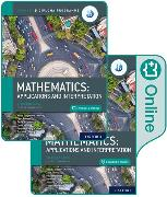 Cover-Bild zu Oxford IB Diploma Programme: IB Mathematics: applications and interpretation, Standard Level, Print and Enhanced Online Course Book Pack