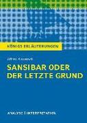 Cover-Bild zu Sansibar oder der letzte Grund. Königs Erläuterungen (eBook) von Hasenbach, Sabine