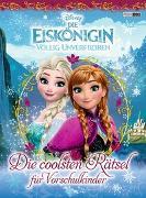 Cover-Bild zu Disney Die Eiskönigin: Die coolsten Rätsel für Vorschulkinder von Panini (Hrsg.)