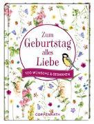 Cover-Bild zu Zum Geburtstag alles Liebe von Bastin, Marjolein (Illustr.)