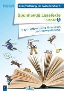 Cover-Bild zu Leseförderung für zwischendurch: Spannende Lesetexte - Klasse 3 von Hautzel, Annette