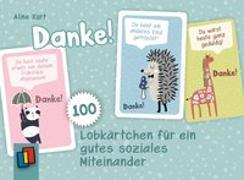Cover-Bild zu DANKE! 100 Lobkärtchen für ein gutes soziales Miteinander von Kurt, Aline