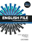 Cover-Bild zu English File: Pre-intermediate. MultiPACK A von Oxenden, Clive