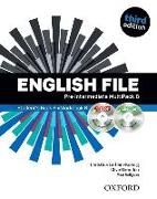 Cover-Bild zu English File third edition: Pre-intermediate: MultiPACK B von Oxenden, Clive