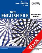 Cover-Bild zu Pre-Intermediate: New English File: Pre-intermediate: Workbook with MultiROM Pack - New English File von Oxenden, Clive