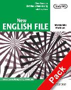Cover-Bild zu Intermediate: New English File: Intermediate: Workbook with MultiROM Pack - New English File von Oxenden, Clive