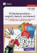 Cover-Bild zu 70 Rechenmandalas - magisch, tierisch, motivierend von Seeger, Norbert