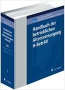 Cover-Bild zu Handbuch der betrieblichen Altersversorgung - H-BetrAV, Teil I von Beye, Claus-Jürgen