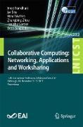 Cover-Bild zu Collaborative Computing: Networking, Applications and Worksharing (eBook) von Romdhani, Imed (Hrsg.)