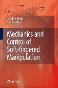 Cover-Bild zu Mechanics and Control of Soft-fingered Manipulation (eBook) von Inoue, Takahiro
